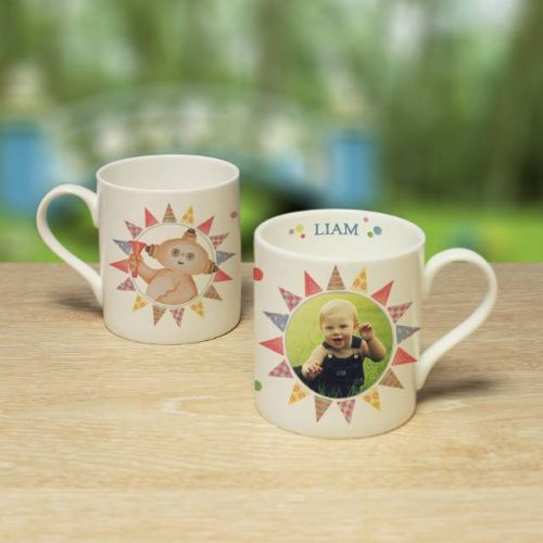 Personalised In the Night Garden Makka Pakka Photo Mug